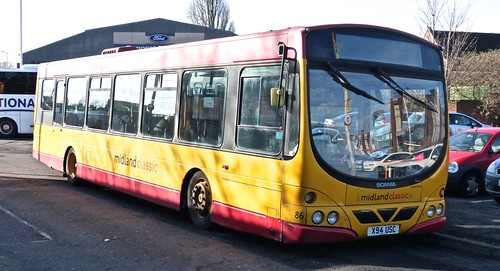 'Scene' in Lichfield on  Dennis Basford's 'railsroadsrunways.blogspot.co.uk'