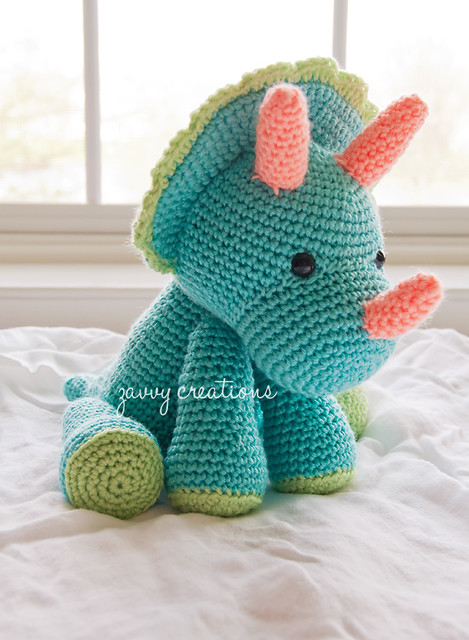 Triceratops profile