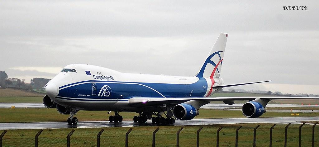 G-CLAA - B744 - CargoLogicAir