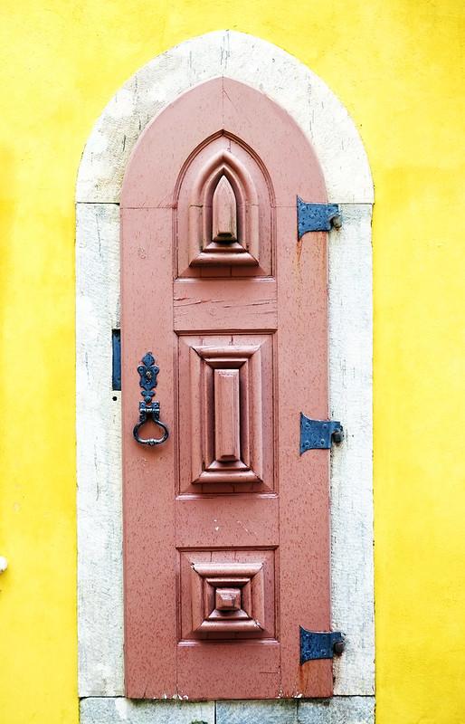 Pena Castle Door