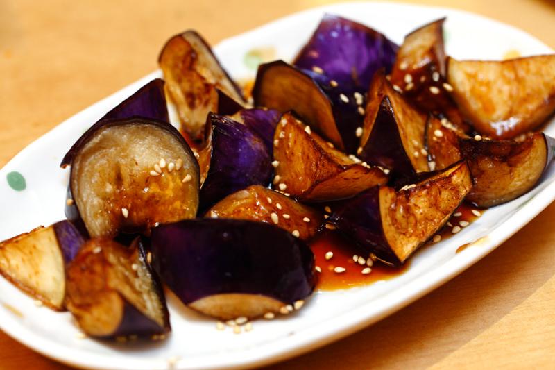Mitasu Japanese buffet Brinjal Teriyaki