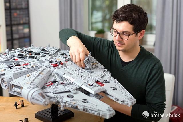 lego millennium falcon 2017 instructions
