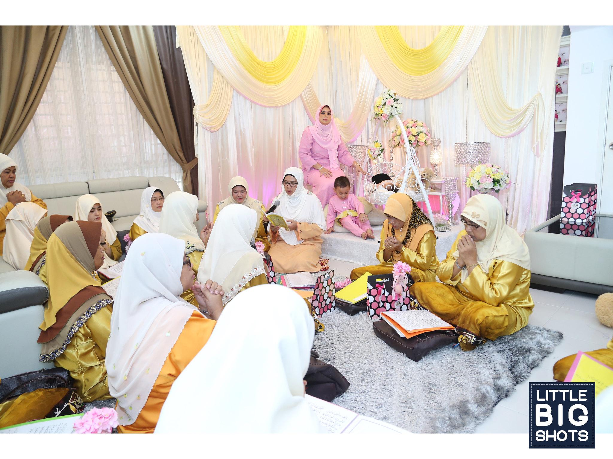 Majlis Aqiqah & Berendoi Liz Melisa.