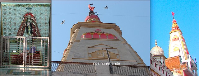श्री दुर्गा माता मंदिर (Shri Durga Mata Mandir) dedicated to Maa Durga, near Moti Nagar metro station.