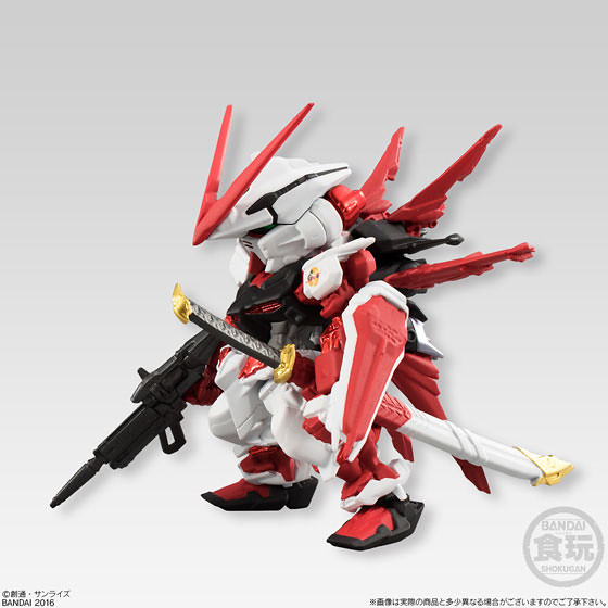 FW GUNDAM CONVERGE EX10 異端鋼彈紅色機/ EX11 異端鋼彈藍色機