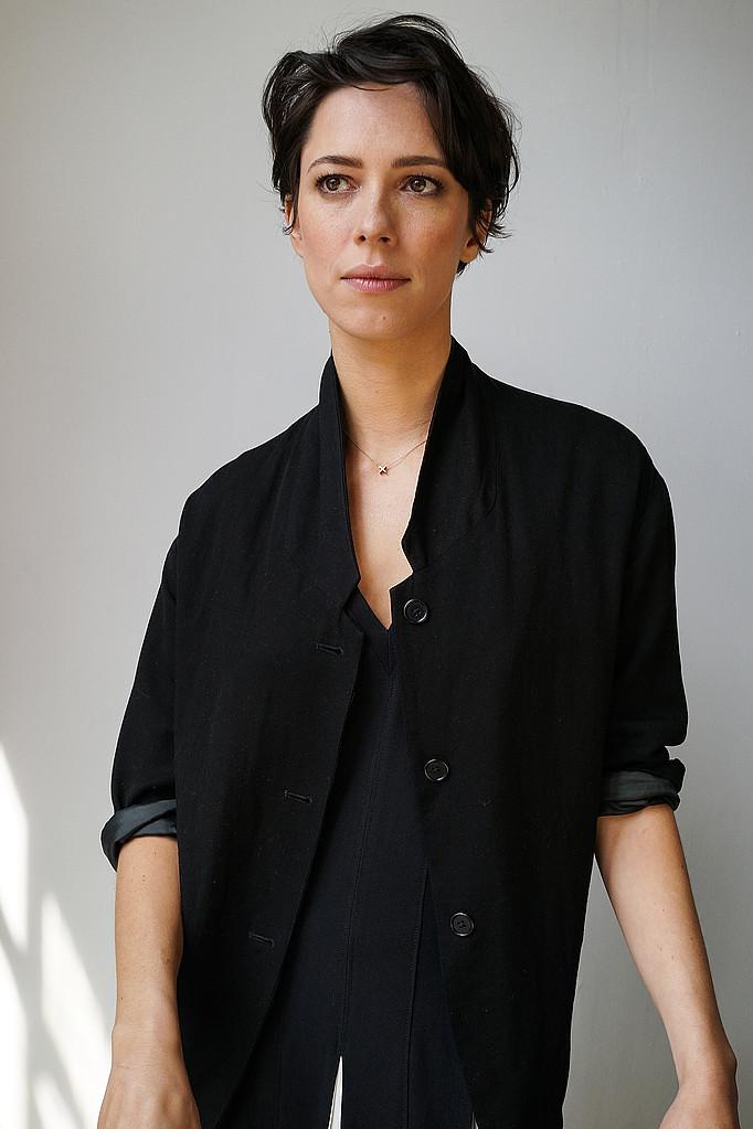 Ребекка Холл — Фотосессия для «Tumbledown» на «Tribeca» 2015 – 47