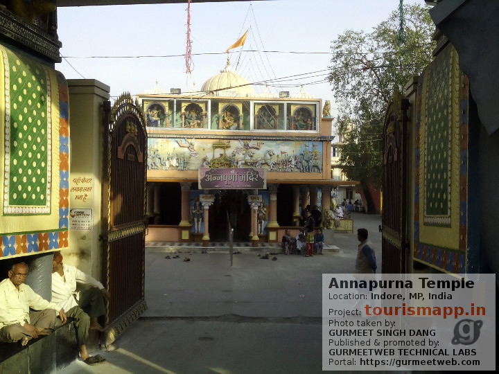 Annapurna Temple, Indore, MP, India