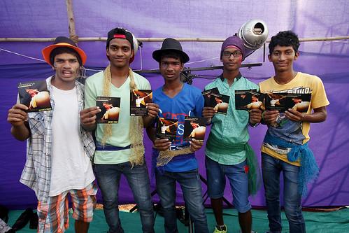 I nostri volontari distributori di volantini