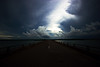 Channel Island Bridge: Between the storms