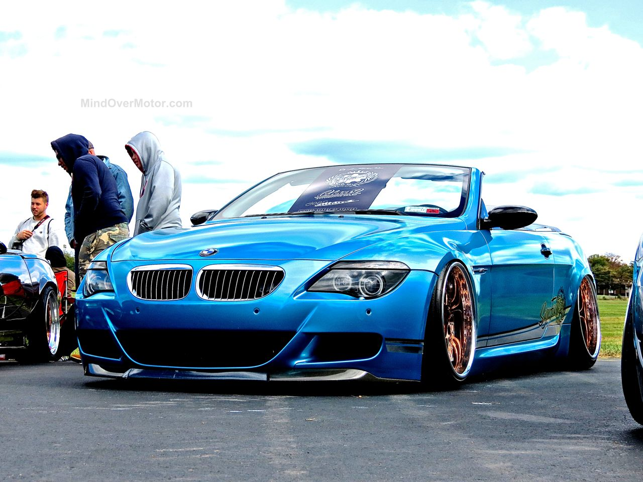 Slammed BMW M6 First Class Fitment 2
