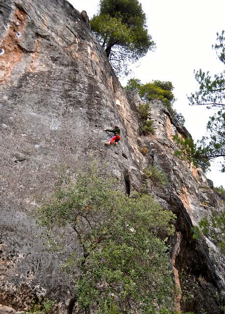 climbing at siurana