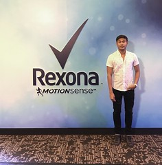 rexona motionsense event