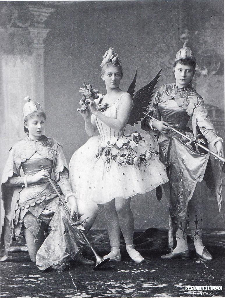 19世纪芭蕾剧舞台设计08