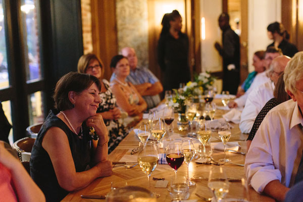 Celine Kim Photography KM Intimate restaurant Cluny Bistro Distillery District Toronto summer wedding-68