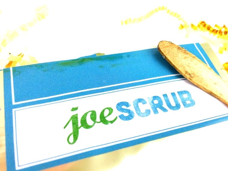 Scrub a Dub Dub: JoeScrub