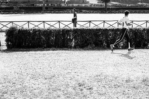 Analogue Olympus OM-10 - Villa Borghese - Rome