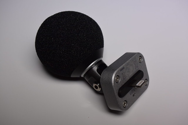 Shure MV88 with windscreen