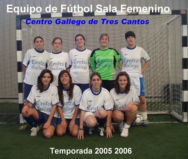 Equipo fútbol sala femenino: temporada 2005-2006