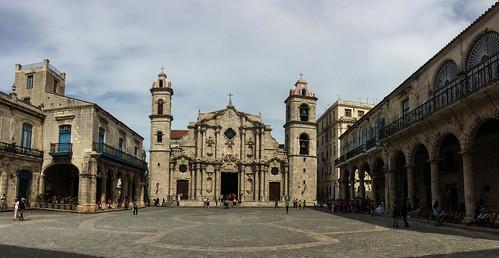 La Havane: la Place de la Cathédrale