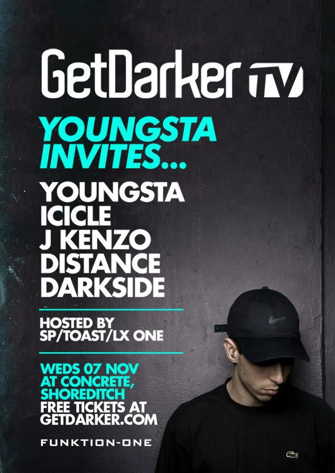 Youngsta Invites - GetDarkerTV LIVE 156