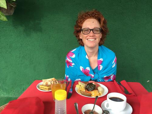 Cienfuegos: le petit-déjeuner