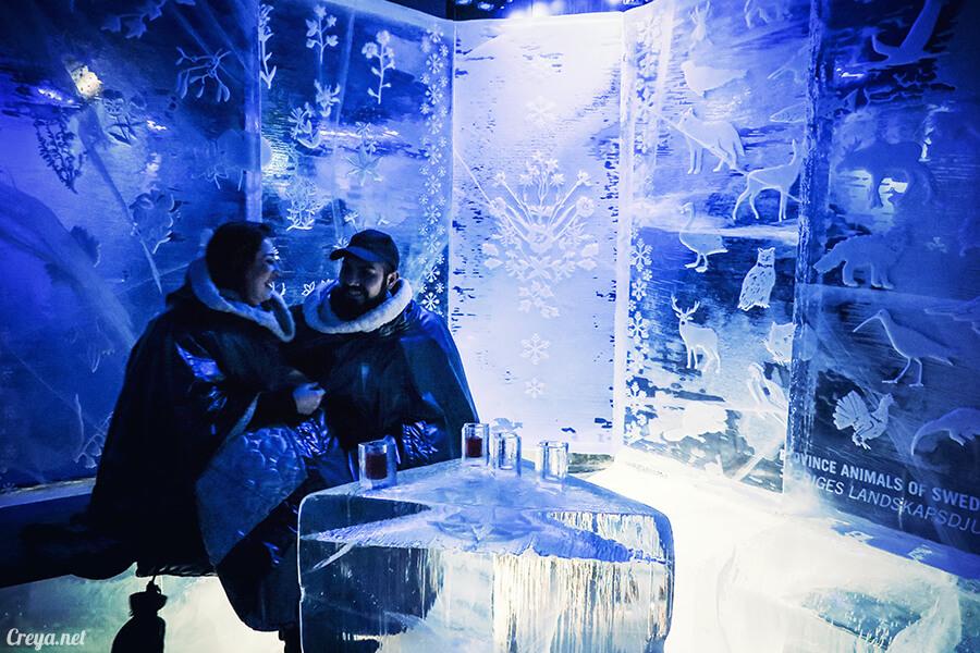 2016.03.24 ▐ 看我歐行腿 ▐ 斯德哥爾摩的 ICEBAR 冰造酒吧,奇妙緣份與萍水相逢的台灣鄉親破冰共飲 13.jpg