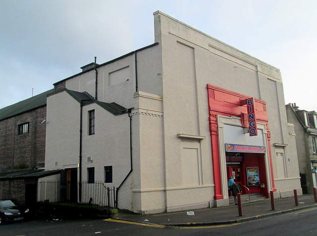 Former Cinema, Cowdenbeath, Side View