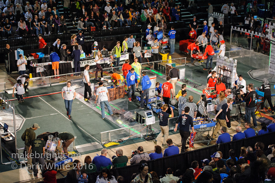 FIRST Robotics Regionals - UW - April 2016 042