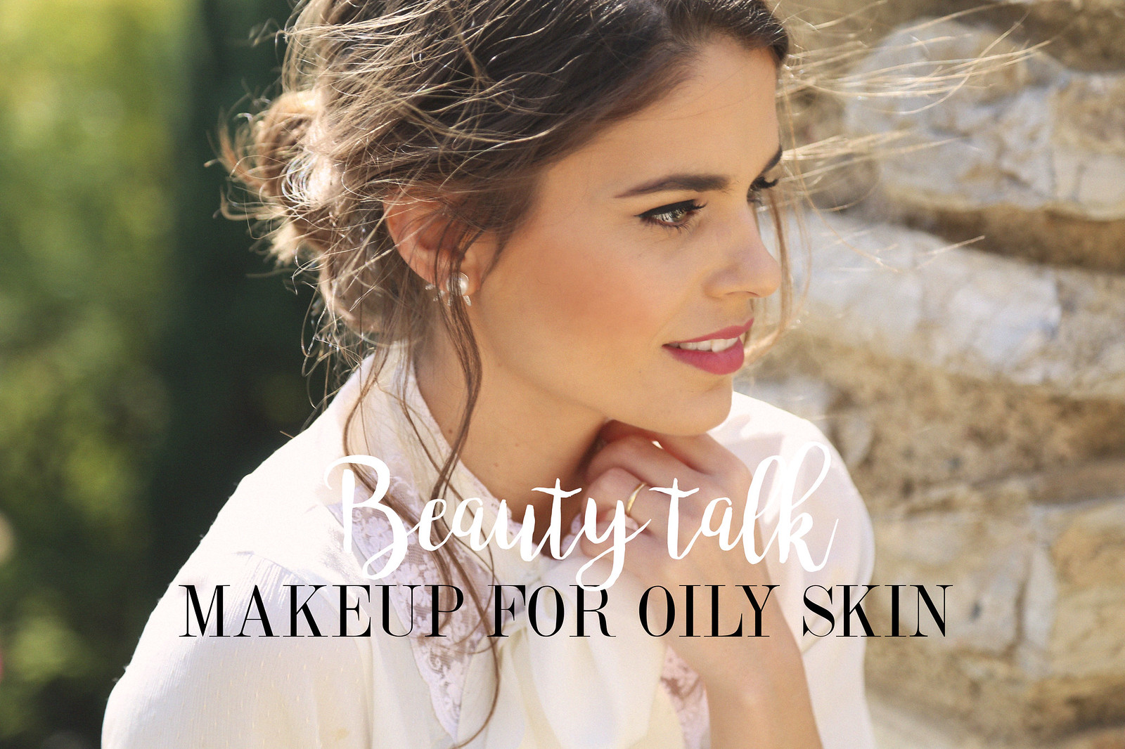 cover makeup tip for oily skin