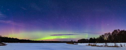 Northern lights, Estonia