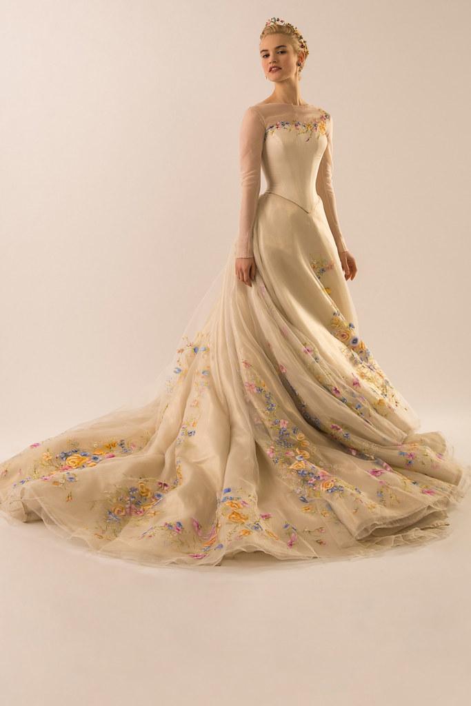 La robe de mariée de Cendrillon