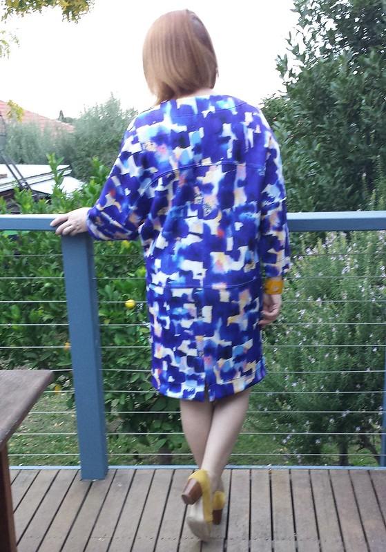 Style Arc Hazel dress in printed scuba from Spotlight