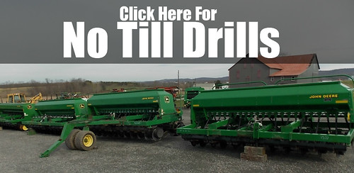 Used John Deere No Till Drill for sale