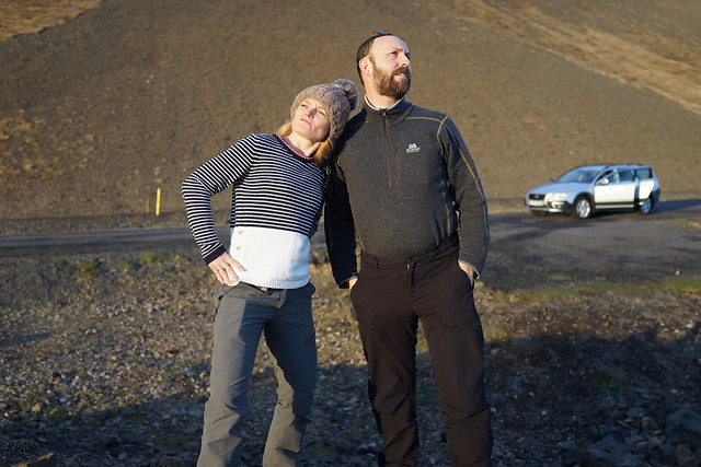 Nicola and Gil, Iceland