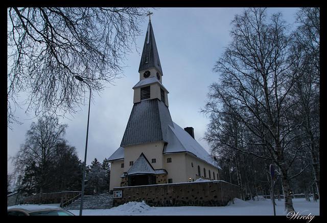Iglesia luterana de Rovaniemi
