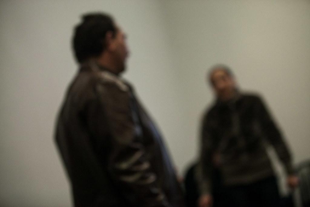 Péter és Eszter a tárgyaláson | Fotó: Magócsi Márton