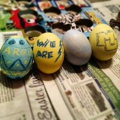 Happy Easter, Marquette!  by @milljam21