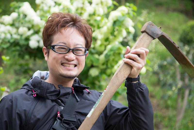 タケノコ掘り-9