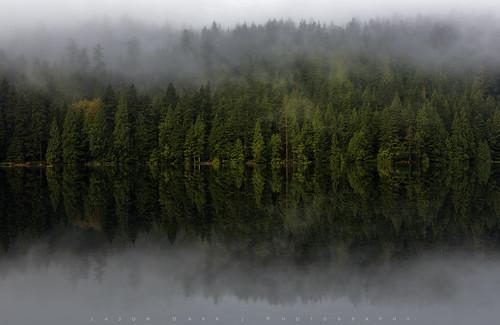 lake water vancouver clouds sunrise reflections sasamatlake jasondarr