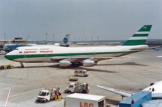 Cathay Pacific Airways Boeing 747-367 VR-HIJ