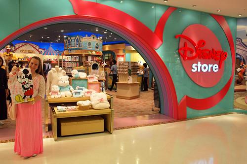 Disney Store Takashimaya