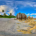 Nauru pinnacles in sunset light - virtual reality tour in description by Nick Hobgood
