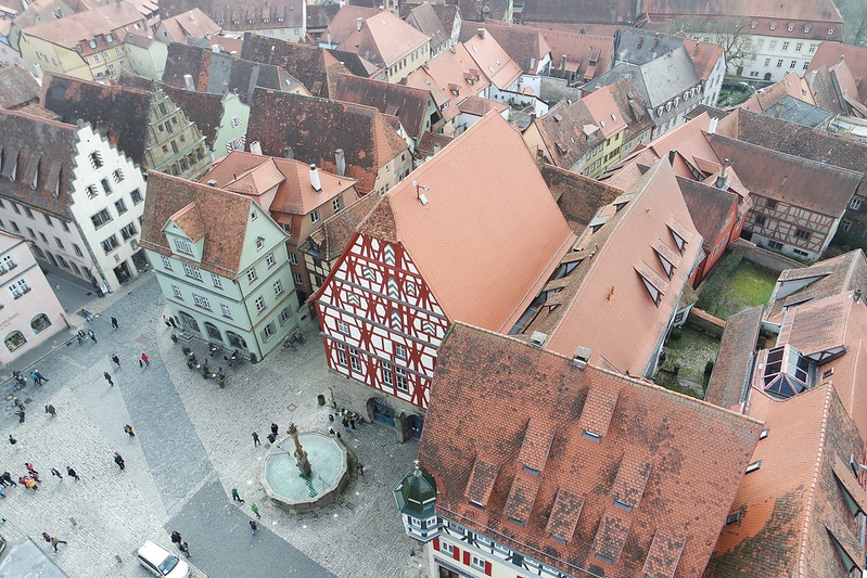 Rothenburg desde la Torre del Ayuntamiento
