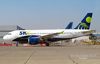 Sky A319 CC-AFX mantto (RD)