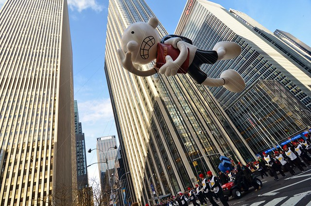 Macy's 2015 Thanksgiving Day Parade/Balloon Inflation