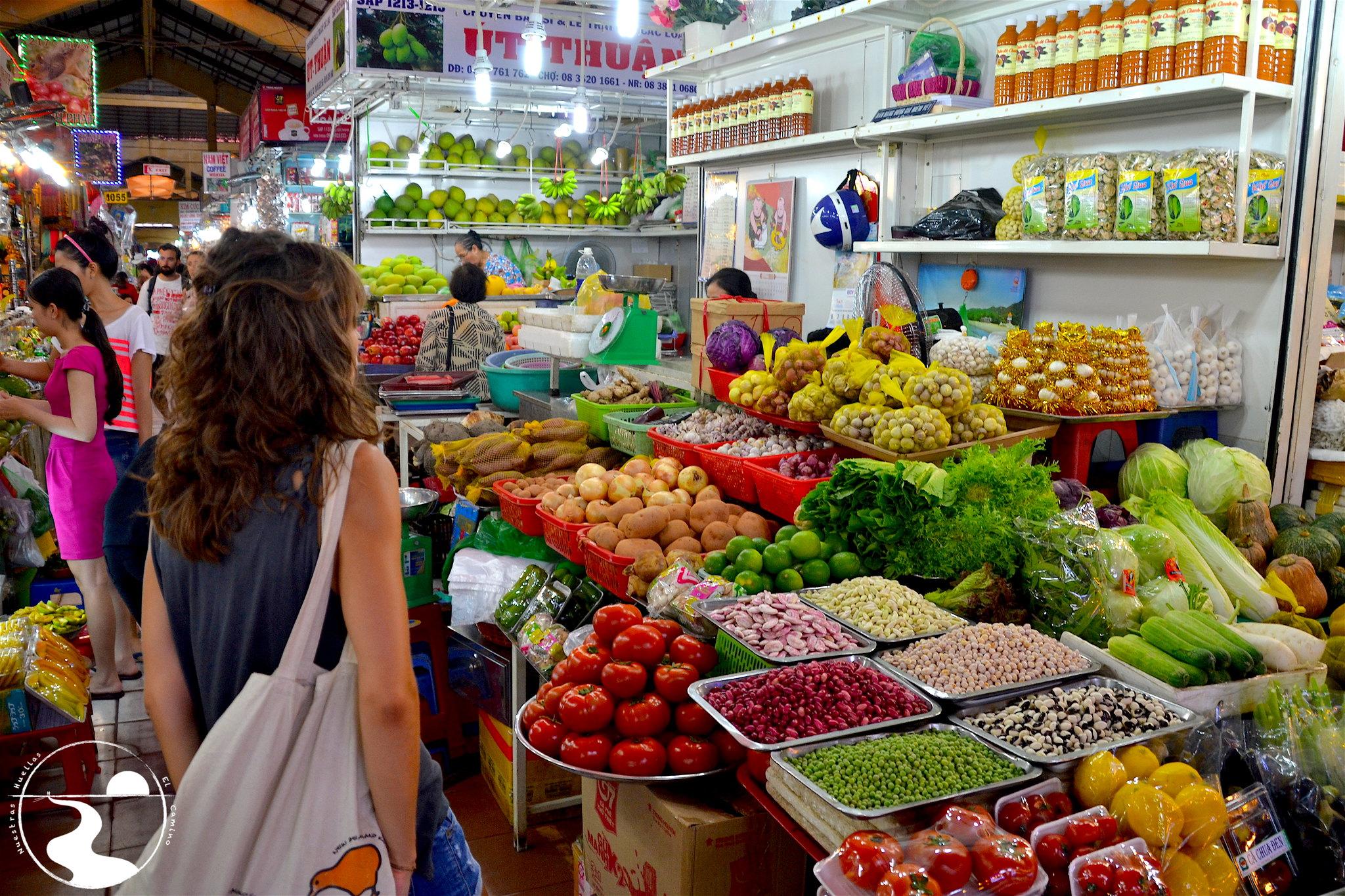 Fruta en el mercado Ben Thanh
