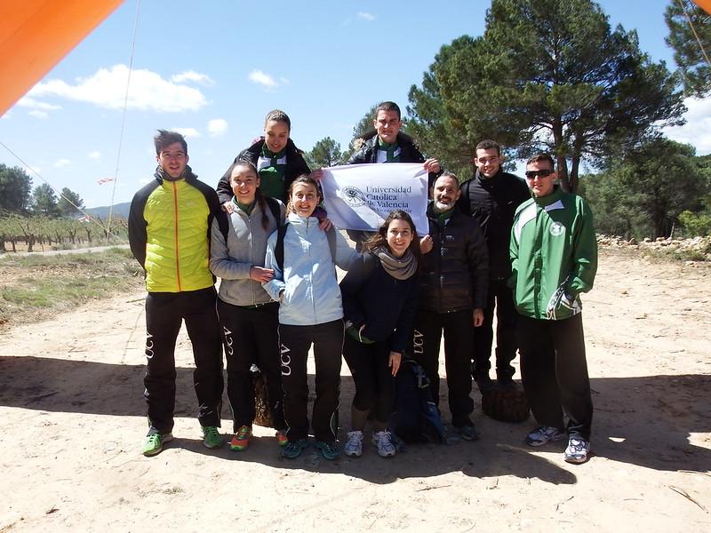 Campeonato de Orientación Xarxa Vives y CADU