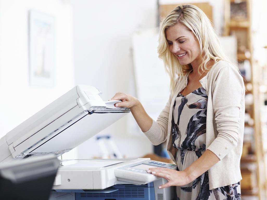 Có nên dùng máy photocopy khi mang thai?