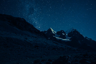 Why I love mountains: dream-like starry nights!