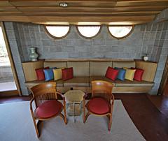 David Wright House living room nook